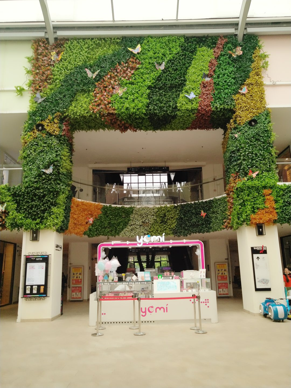 绿植墙商场墙面